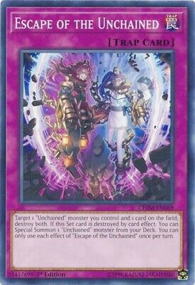 AU1.89 • Buy Escape Of The Unchained Common Chaos Impact Yugioh Card X3 CHIM-EN069 - NEW