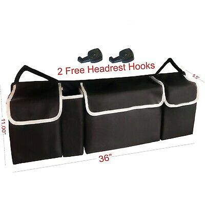 $16.95 • Buy Car Trunk Organizer Car Interior Accessories Back Seat Storage Box Bag Multi-use