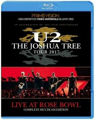 U2 Live At Rose Bowl The Joshua Tree Tour 2017 March 20 BDR Blu-ray 1 Disc F/S • 39$