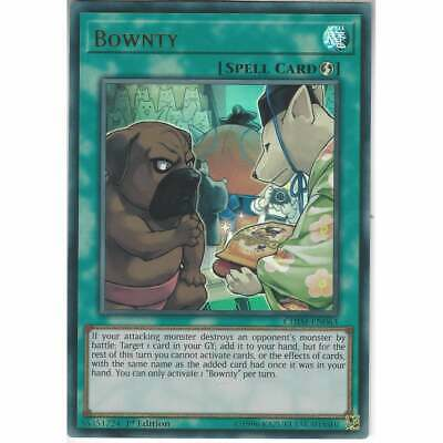 AU1.50 • Buy Yugioh CHIM-EN063 Bownty Ultra Rare 1st Edition NM - Fresh Pull, New Cards!!!