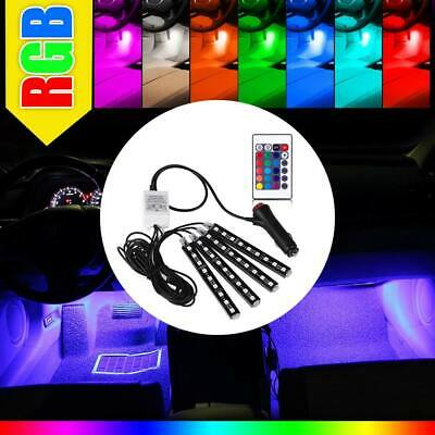 $7.99 • Buy 4x RGB Full Color 36 LED Interior Car Under Dash Floor Seats Accent Light Kit US