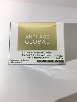 AU28.88 • Buy YVES ROCHER ANTI-AGE GLOBAL Complete Anti-aging Night Care 50 Ml