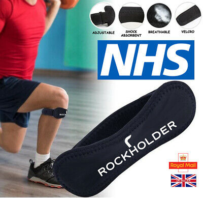 Knee Support Adjustable Strap Patella Belt Tendon Runners Pain Band Brace NHS UK • 5.49£
