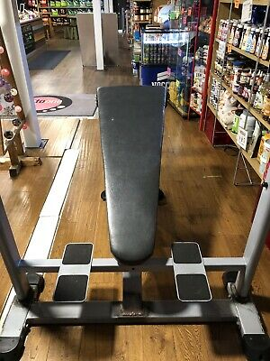 Exigo Olympic Decline Bench With Spotter Stand • 300£