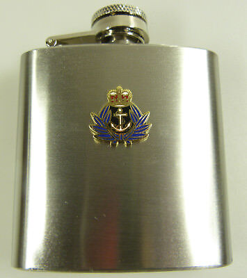 £9.99 • Buy WRNS Womens Royal Naval Service Badged Hip Flask