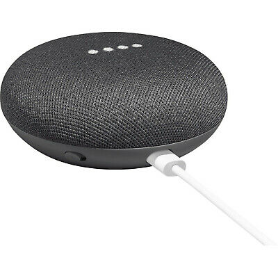 AU37.28 • Buy Google Home Mini Wireless Smart Bluetooth Speaker With Google Assistant-Charcoal