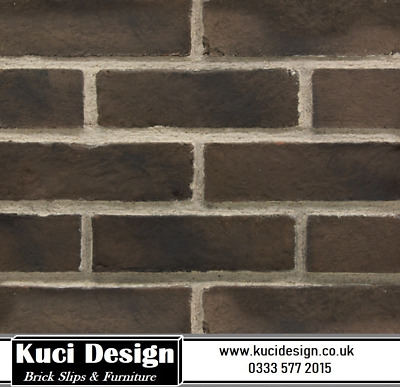 Clearance - Red Brick Slips/Brick Tile/Brick Cladding/Wall Tile SAMPLE  • 0.99£