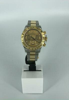 $ CDN27238.65 • Buy Rolex Daytona Two Tone Yellow Gold Champagne Dial 40mm 2014 With Box And Papers