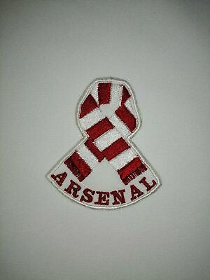 £3.25 • Buy Arsenal - Afc - Embroidered Patch 'scarf' Iron On / Sew On - Personalised
