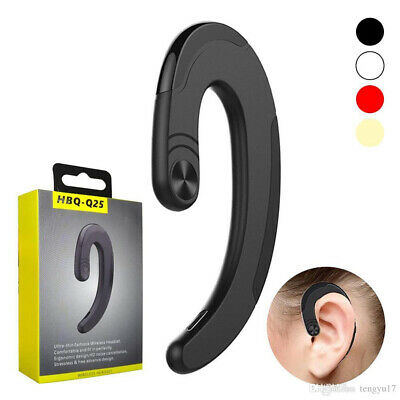 $11.65 • Buy Wireless Bluetooth Headphones Ear Hook Business Headsets Stereo Bass Earphones