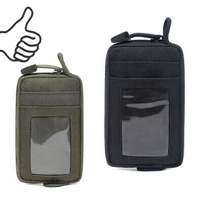 $8.49 • Buy Waterproof EDC Pouch Tactical Key Change Purse Wallet Travel Kit Coin Purse USA