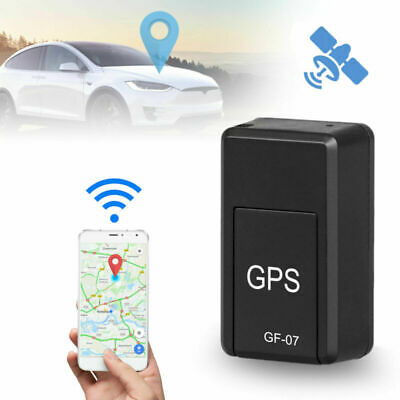 AU19.85 • Buy GF07 Mini GPS Tracker Real Car Vehicle Time Tracking Locator Magnetic GSM GPRS