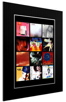 £45.44 • Buy Mounted / Framed Print The Cure Discography 3 Sizes Print Poster Artwork