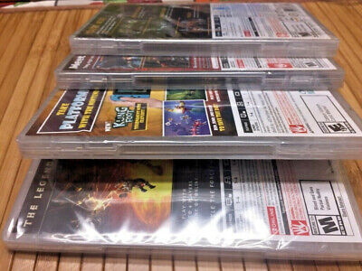 $160 • Buy Nintendo Switch Games Lot Of 4 Games (BRAND NEW SEALED)
