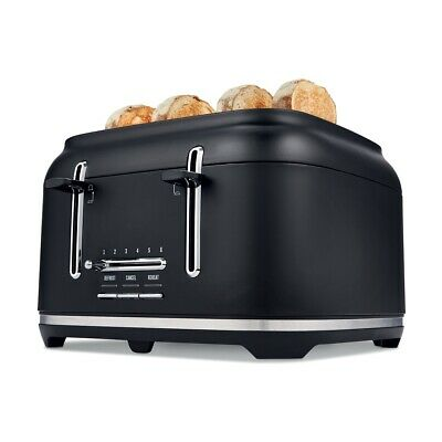 AU71.90 • Buy 4 Slice Stainless Steel Toaster Variable Browning Control