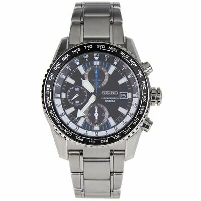 $ CDN392 • Buy Seiko Analog Criteria Chronograph Black Dial 100m Watch SNDD09 SNDD09P SNDD09P1