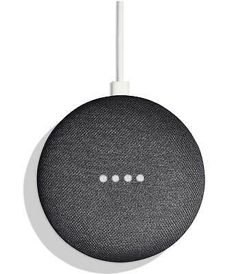 AU78 • Buy Google Nest Mini (2nd Gen) - Charcoal - Smart Speaker - GA00781