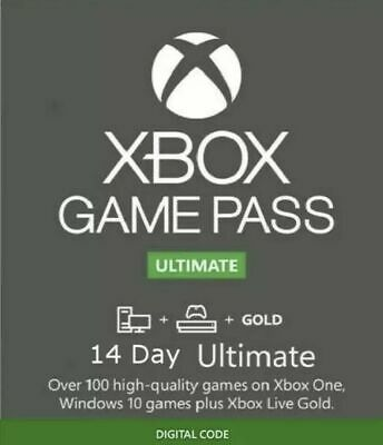 $4.90 • Buy Xbox Live 14 Day Gold Trial Membership Code (2 Weeks) - Xbox One Only - Instant