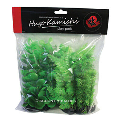 Bushy Mix Artificial Plastic Aquarium Plants Decor Aquatic Plants   • 13.40£