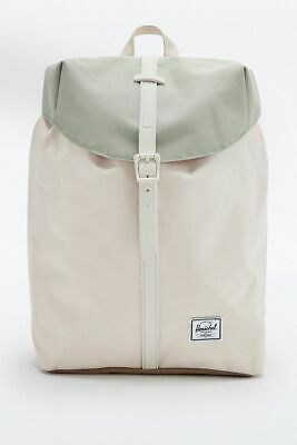 AU45 • Buy Herschel Post Urban Outfitters Exclusive Drawstring Natural Green Cream Backpack