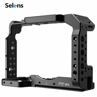 $ CDN54.26 • Buy Selens House Camera Cage Protective For Sony A7III Vlogging Holder