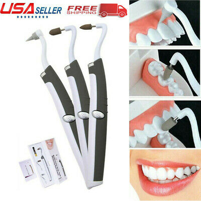 $13.06 • Buy Ultrasonic Electric Tooth Stain Eraser Cleaner Dental Scaler Teeth Whitening USA