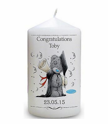 Cellini Candles Graduation Tatty Teddy Congratulations Personalised Gift #1 • 27£