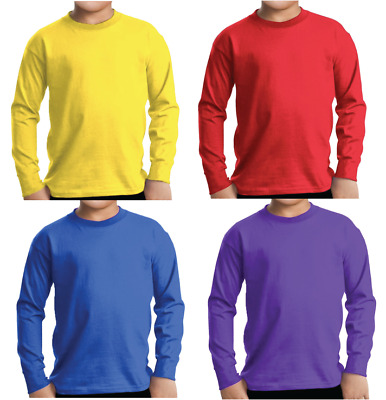 AU24.95 • Buy Adult Or Children The Wiggles Costume Long Sleeve Top Blue Purple Yellow Red
