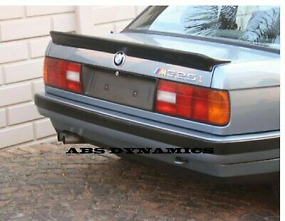 $150 • Buy M TECH 1 Style Spoiler For 85-91 BMW E30 3 SERIES TRUNK WING PLASTIC