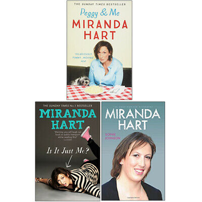 £23.99 • Buy Miranda Hart,Peggy And Me,Is It Just Me 3 Books Collection Set Paperback NEW