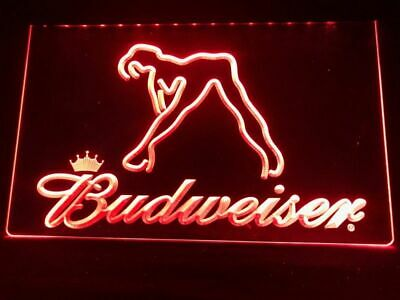 $ CDN34.79 • Buy Budweiser Beer Bud Led Neon Light Up Sign Bar Pub Man Cave Sport Gift Advertise