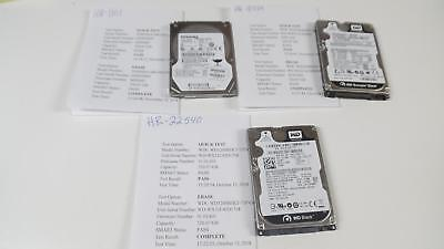 $ CDN70.53 • Buy Lot Of 3 WD/ Toshiba Model 320GB 2.5  Laptop HDD Tested 7200/5400-RPM