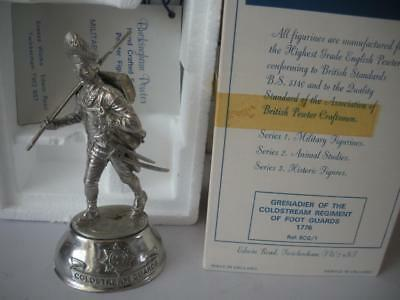 £34.99 • Buy Chas Stadden Grenadire Of The Coldstream Reg Of Foot Guards Pewter Figure Boxed