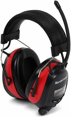 Electronic Ear Defenders Ear Muffs Headphones With Mic And AM/FM Digital Radio  • 46.05£