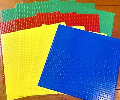 $12.99 • Buy Lot 11 Lego Glossy Embossed 12 X 12 Scrapbook Papers Paper Wizard Toys Blocks