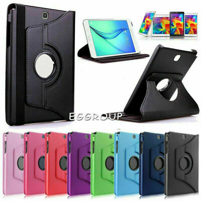 AU14.51 • Buy For Samsung Galaxy Tab 4 10.1 T530 T535 T531 Tablet Rotating Leather Cover Case