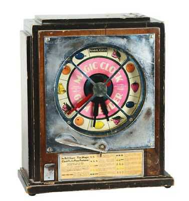 Antique Keeney And Sons Coin Operated Machine Magic Clock Fortune Teller Rare • 1,500£