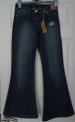 £29.99 • Buy Dorothy Perkins Size 10 Super Flare Jeans BNWT NEW With Tags 28w 29.5L Mid Blue