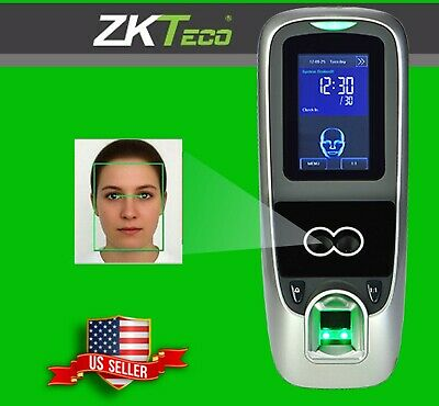AU1295.16 • Buy ZK IFace7 Multibio700 Face Access Control, Fingerprint, Codes, RFID Cards Zkteco