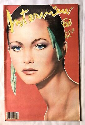 $29 • Buy Andy Warhol's INTERVIEW Magazine Diane Lane Cover DNA No Wave Band Feb 1981