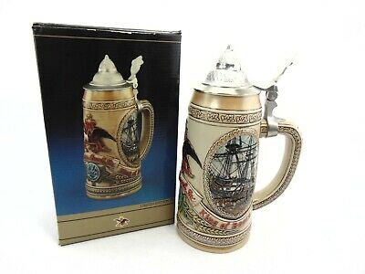 $ CDN18.14 • Buy Anheuser Busch Budweiser Limited Edition III  H  Series Lidded Beer Stein 66263