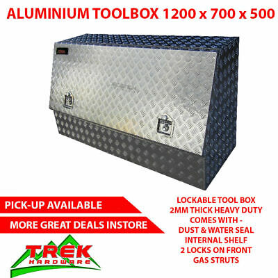 AU400 • Buy 1200X500X700mm Heavy Duty Aluminium Toolbox Half Open Door Ute Truck Tool Box