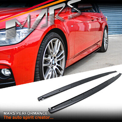 AU299.99 • Buy Gloss Black M Tech Sport Style Side Skirts Lip Spoiler For BMW 3-Series F30 F31