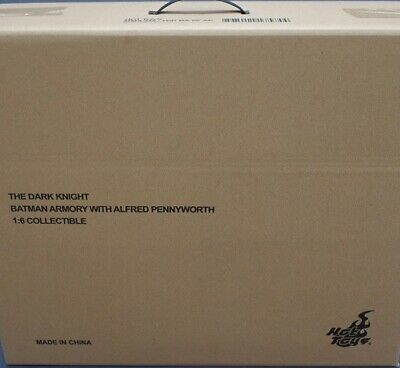 $ CDN1114.21 • Buy Hot Toys MMS235 The Dark Knight TDK 1/6 Batman Armory With Alfred Pennyworth New