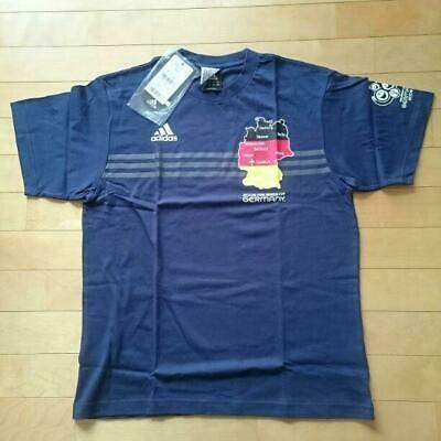 Adidas 2006 FIFA World Cup GERMANY T-shirt L Size Navy ANA Airline Limited B747 • 80.54£