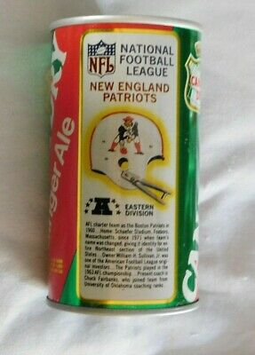 $3.99 • Buy Vintage New England Patriots Helmet Canada Dry Empty Soda Can