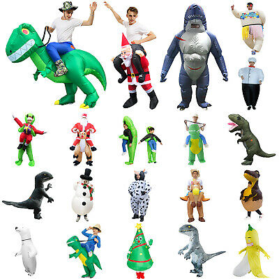 $25.35 • Buy Christmas Adult Inflatable Fancy Dress Costume Unisex Funny Outfit Costume Suits