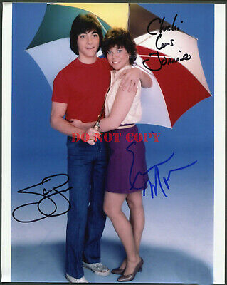 $6.95 • Buy SCOTT BAIO & ERIN MORAN SIGNED 8X10 PHOTO JOANIE LOVES CHACHI Reprint