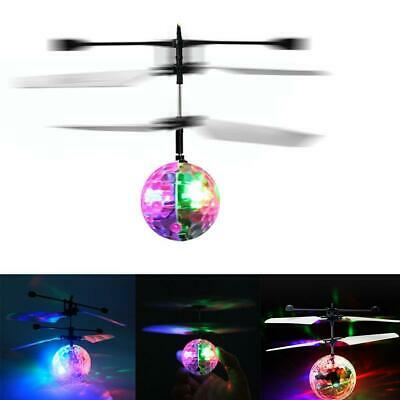 Magic Electric Flying Ball Helicopter W/ LED Light Infrared Sensor Toy Gift IR • 7.45£