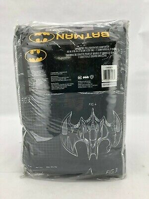 $ CDN49.99 • Buy DC Batman 3 Piece Full/Queen Comforter Set | Blueprint Design